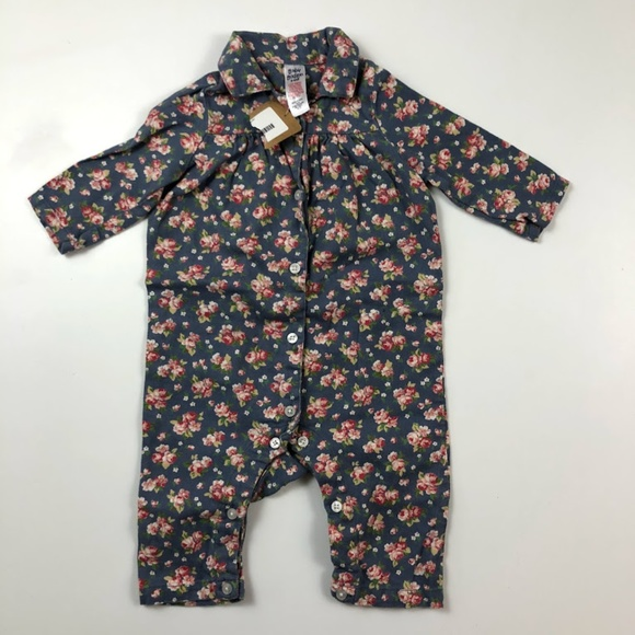 acdfbad503 Baby Boden 3-6 Months Floral Romper